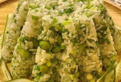 Zeytinyağlı Yeşil Pilav Nasıl Yapılır
