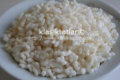 Evde Pirinç Patlağı Yapımı