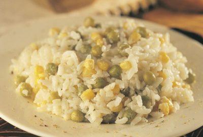 Kremalı ve mısırlı pilav tarifi