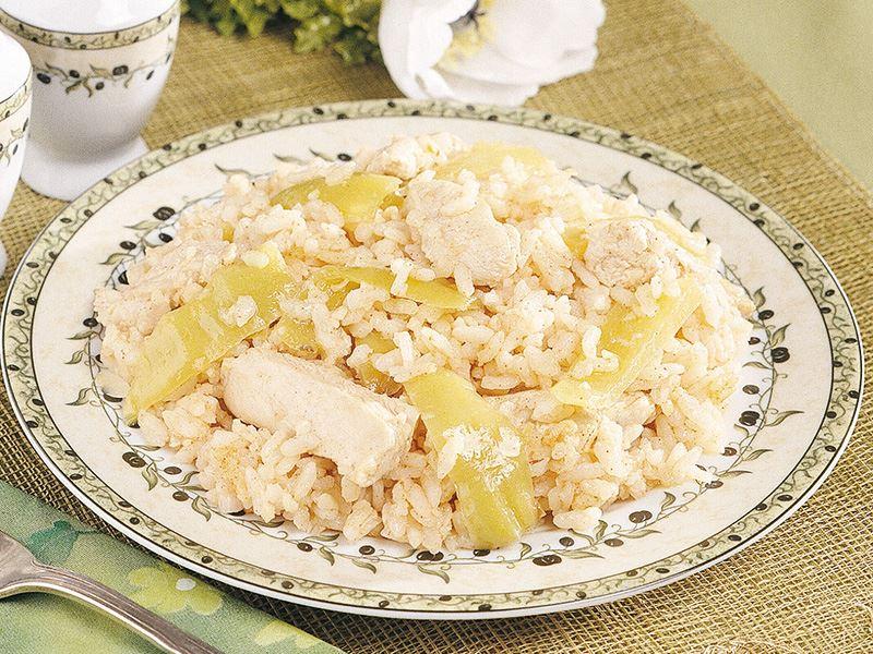 Yoğurtlu ve tavuklu pilav tarifi
