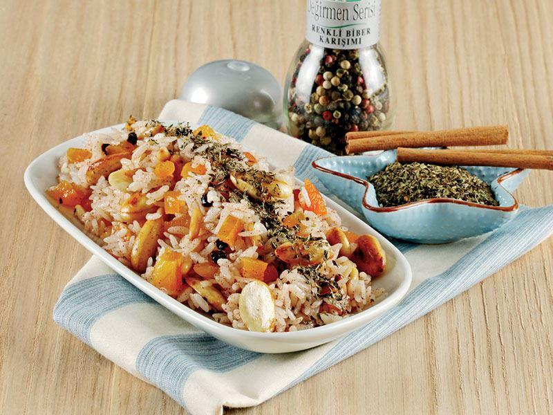 Terme Pirinci ile İç Pilav Tarifi